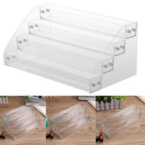 Lipstick Rack Nail Polish Acrylic Display Holder Organizer Storage Stand Display