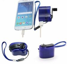 phone charger dynamo, manual crank charger, no power needed. free shipping