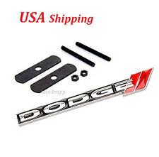 New JDM 3D Metal Dodge Front Grill Grille Emblem Dodge Logo Badge Emblem
