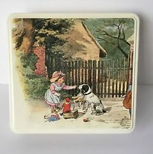 Massilly Tin Box France Rare Collectible