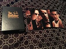 The Godfather DVD Collection (DVD, 2001, 5-Disc Set, Sensormatic) GREAT SHAPE