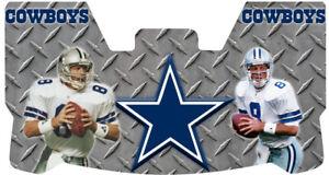 Custom Cowboys Tony Romo Plate Football Helmet Visor, W/ Unbranded Clips