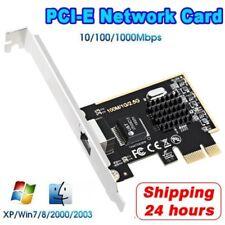 PCIe 2.5G Network Card Gigabit Ethernet 100/1000M/2.5G RJ45 Lan Network adapter