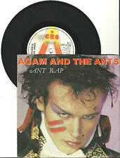 "Adam and the Ants, ANT Rap, G/VG,  7"" Single, 999-785"