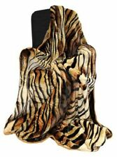 Just Contempo 100% Polyester Animal Print Decorative Throws
