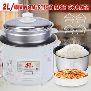 Multi Reiskocher mit Warmhaltefunktion, 400 Watt, 2.0 Liter Fassungsvermögen