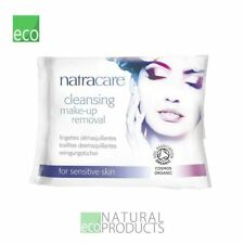 Natracare Cleansing Make Up Removal Wipes Sensitive Skin 20 Per Pack