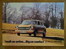 MORRIS 1800 & 2200 orig 1973 1974 UK Mkt Sales Brochure - BL 2999