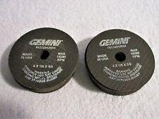 "New listing New Norton Gemini 4"" x 1/8"" x 5/8 Grinding Wheel Lot of 20 662528-42684"