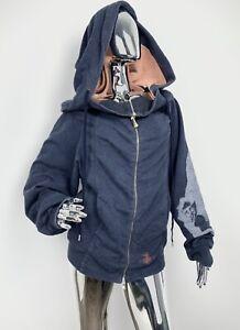 Vivienne Westwood Oversized Big Hood Monkey Print Hoodie  Women's S