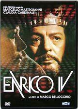 Dvd Enrico IV di Marco Bellocchio con Marcello Mastroianni 1984 Usato raro
