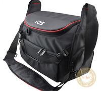 Black Camera Bag Case for Canon EOS 650D 80D 600D 6D 7D 5D II III 1D Rebel 70D
