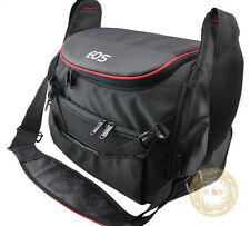 Black Camera Bag Case for Canon EOS 650D 60D 600D 6D 7D 5D II III 1D Rebel 70D