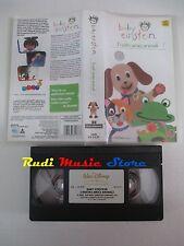 film VHS cartone BABY EINSTEIN I NOSTRI AMICI ANIMALI Walt Disney  (F18)  no dvd