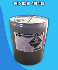 Denatured Alcohol 190 Proof - 5 Gallons - Technical Grade - Solvent