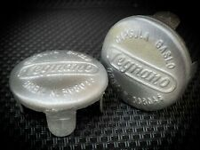 A PAIR- 2x Capsule Gaslo Legnano Eroica per manubrio bici vintage end bar cap