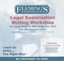 Fundamentals Of Law Legal Examination Writing Workshop 8-Disc Set AUDIO BOOK CDs