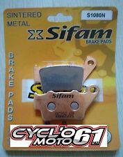 Plaquettes de frein arrière sifam KTM LC4 620 GS / SX 1994 à 1998 (S1080N)