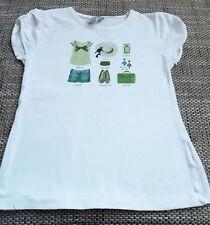 Zara Kurzarm Mädchen-T-Shirts & -Tops mit Rundhals-Ausschnitt