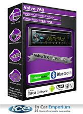 VOLVO 760 DAB Radio , Pioneer autoradio cd usb auxiliaire lecteur, BLUETOOTH KIT
