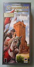 Carcassonne Expansion - The Tower New Edition, Brand New with English Rules