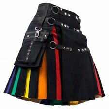 LGBTQ Rainbow Hybrid Fashion Kilt Custom Made
