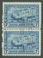 """CANADA B.O.B. 4-HOLE OHMS OC8 MINT PAIR """"C"""" """"X"""""""