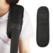 Guitar Strap Shoulder Pad Adjustable Padded Black for Acoustic Electric Guitar