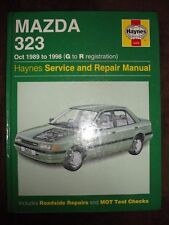 HAYNES WORKSHOP MANUAL MAZDA 323 89-98 4 CYL FUEL INJECTION SALOON  HATCHBACK