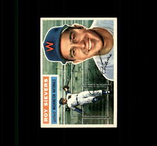 1956 Topps 75A Roy Sievers Gray Back NM #D415556