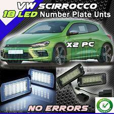 VW Golf SCIRROCCO LED License Number Plate Light 18 led error free