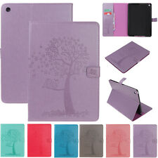 """Tree Pattern Leather Wallet Case Cover For iPad 7th Gen 10.2""""/Air/Mini/5th/6th"""