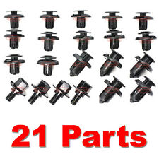 HONDA ACCORD ENGINE UNDERTRAY COVER CLIPS SCREWS BOTTOM PLASTIC TRAY GUARD