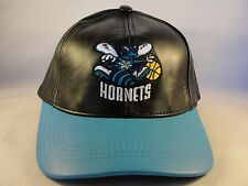 New Orleans Hornets NBA Adidas Leather Snapback Hat Cap