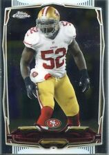 TOPPS Chrome Calcio 2014 veterano CARD # 8 Patrick Willis-San Francisco 49ers