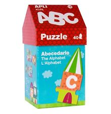 Apli KIds - Little House ABC Puzzle- kids puzzles, childrens gift, ABC learning