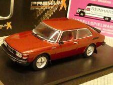 1/43 Ixo Premium X Saab 99 Turbo Combi Coupe 1977 weinrot PRD376