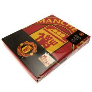 Manchester United FC REVERSIBLE Single Duvet Set PL Official Merchandise NEW UK