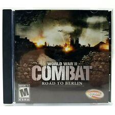 World War 2 Combat Road To Berlin PC Video Game 2005 With Manuel Euc