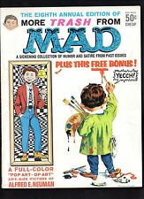 MORE TRASH FROM MAD #8  VF (INCLUDES ATTACHED POSTER INSERT BONUS)  1965 EC