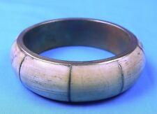 Vintage Copper Plastic Large Bangle Bracelet Fashion Jewelry