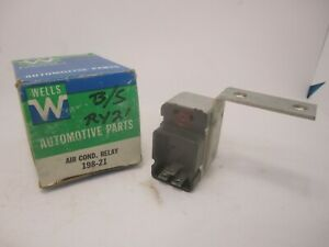 76-80 Chrysler Dodge Plymouth Air-Conditioning Relay WELLS 198-21 RY21
