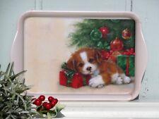 Ambiente 1x Tablett Hunde Weihnachten Gift Guard Melamin 13 X 21 Trays Tiere