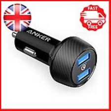 Anker PowerDrive Speed 2 39W Ultra-Compact Car Charger with Quick Charge 3.0 for