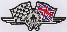 Embroidery Iron On patch Ace Cafe Racer
