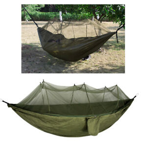 1pcs Practical Nylon Anti-Mosquito Simple Cloth Outdoor Hammock for Camping