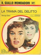 LA TRAMA DEL DELITTO - GEORGE BAXT