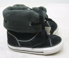 Converse Black Suede Ankle Boot Side Zip Size Us Kid Size 5C