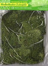 DARK GREEN LICHEN MOSS ~ SCENERY FOR MODEL RAIL HO, N & Z SCALE, BRAND NEW J72