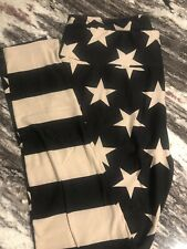 LuLaRoe TC ~ USA THEME on Black ~ Sports ~ BBQ ~ American Flag ~ Landmarks